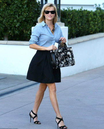 Reese Witherspoon Black Skirt