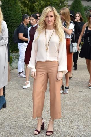 Celebrity Sighting At Paris Fashion Week, Womenswear SS 2015 : September 28th
