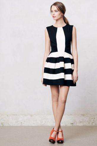 vestido-preto-e-branco-rodado