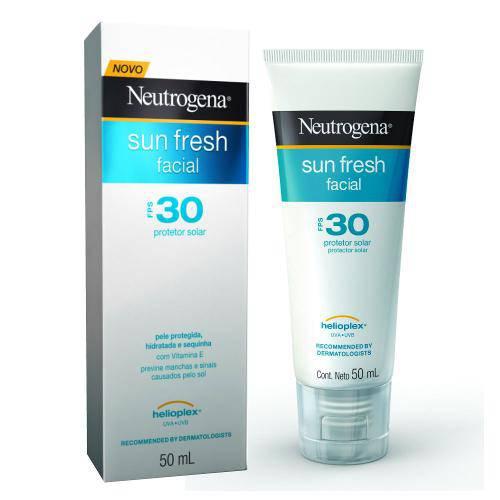 neutrogena facial protetor